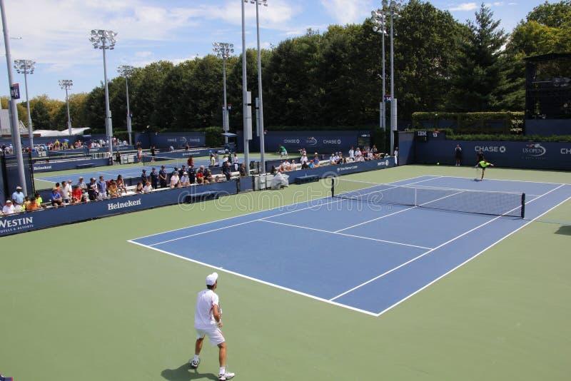 US Open 2013 zdjęcia royalty free