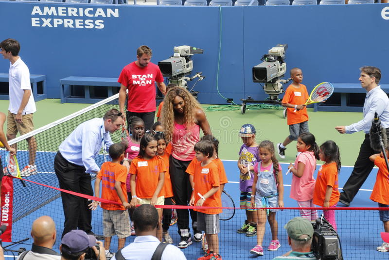 US Open 2014 lizenzfreies stockfoto