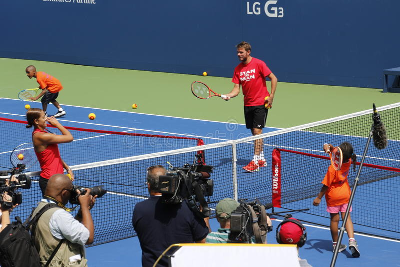 US Open 2014 lizenzfreie stockfotografie