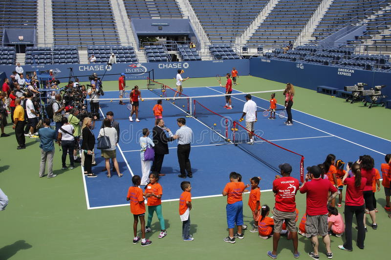 Download 2014 US Open editorial stock image. Image of wavrinka - 43727084