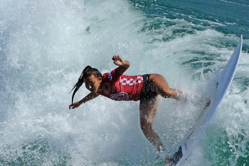 US Open das camionetes de surfar, Huntington Beach, 2019 foto de stock royalty free