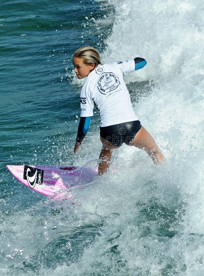 US Open das camionetes de surfar, Huntington Beach, 2019 foto de stock