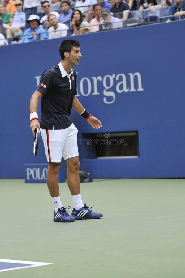 US Open 2015 (89) de Djokovic Novak photo stock