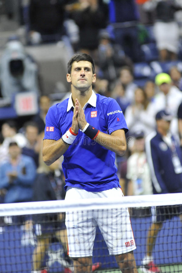 US Open 2015 (13) de Djokovic Novak photo stock
