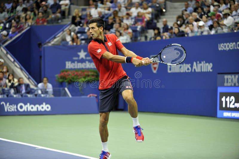 US Open 2015 (177) de Djokovic Novak photographie stock libre de droits