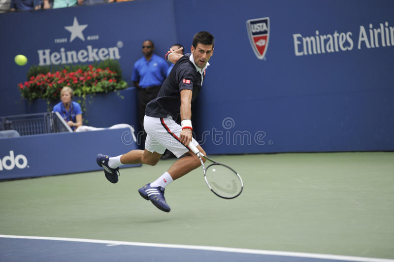 US Open 2015 (54) de Djokovic Novak images stock
