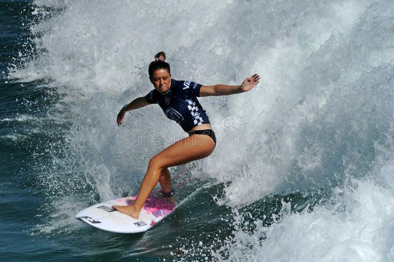 US Open de fourgons de surfer, Huntington Beach, 2019 photographie stock