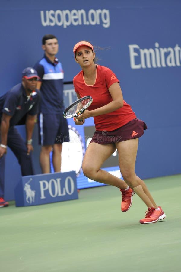 US Open de Mirza Sania (Ind) (87) image stock