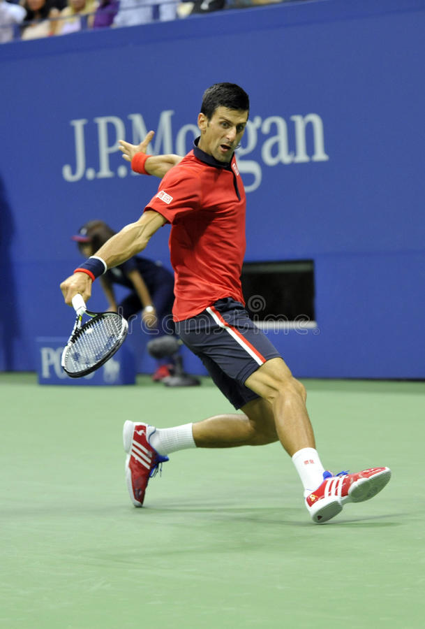 US Open 2015 (189) di Djokovic Novak fotografie stock libere da diritti
