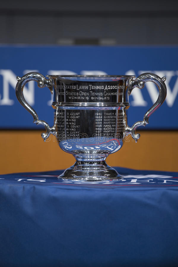 Download US Open Women Singles Trophy Presented At The 2013 US Open Draw Ceremony Editorial Image - Image: 33140770