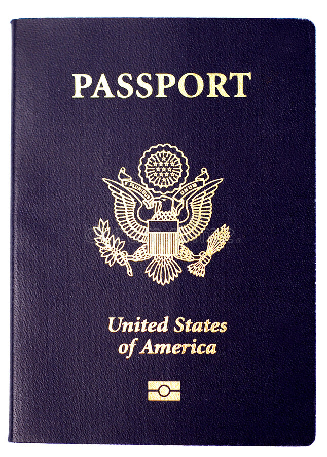 US Passport royalty free stock image