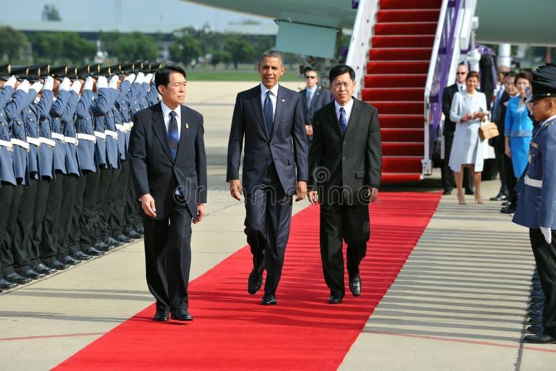Us-president Barack Obama royaltyfri bild