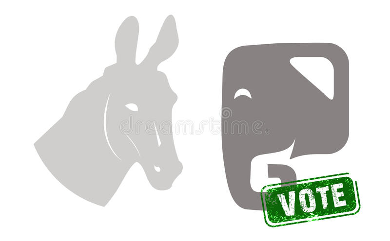 US Presidential Election royalty free stock photo