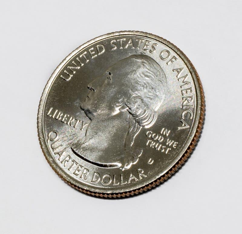 US quarter dollar stock photography