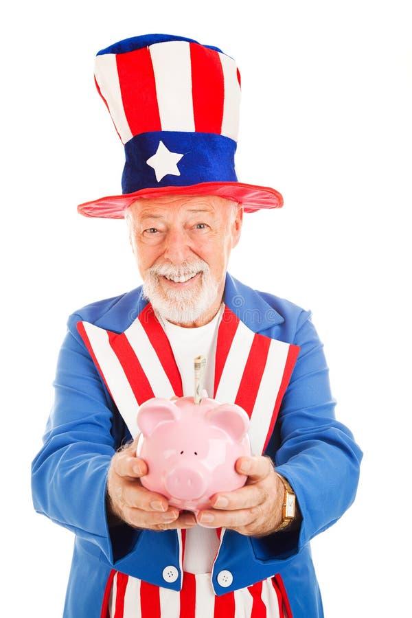 Download US Savings Plan stock image. Image of metaphor, money - 10100961