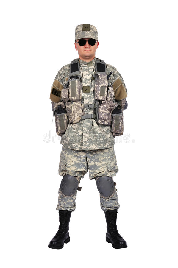 US soldier stock photos