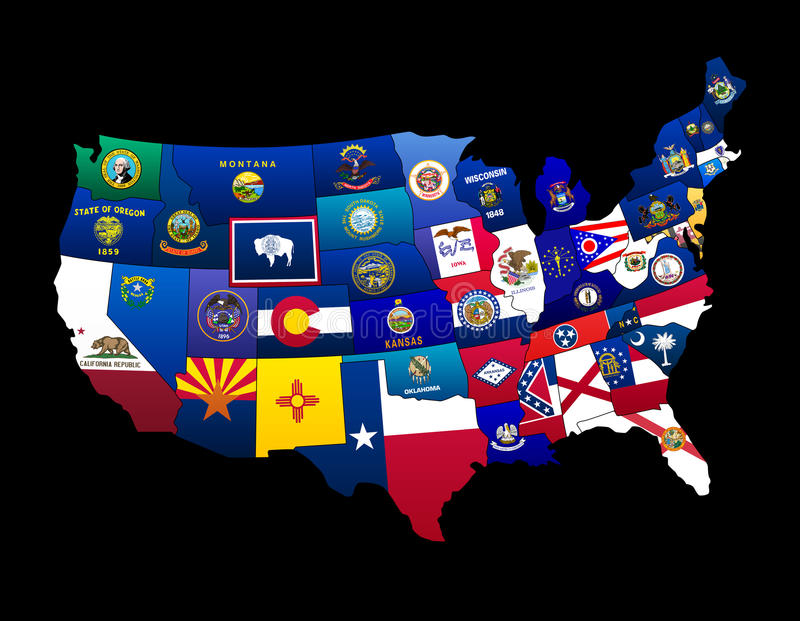 US States Stock Images