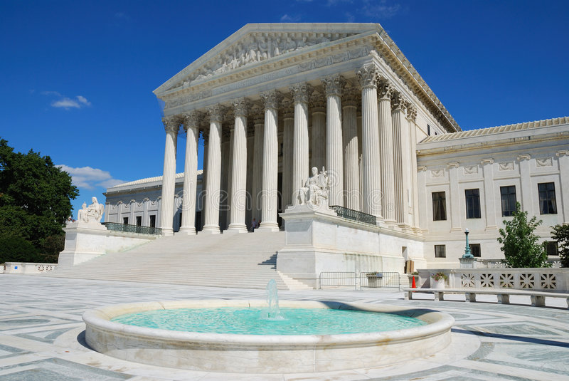 US Supreme Court stock photography