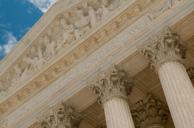 Download US Supreme Court stock image. Image of legislate, front - 7718655
