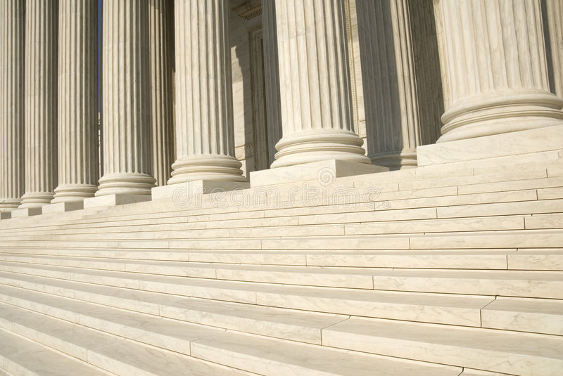 US Supreme Court - Steps royalty free stock images