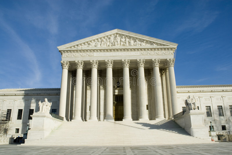Download US Supreme Court In Washington DC Stock Image - Image of legal, supreme: 1669591