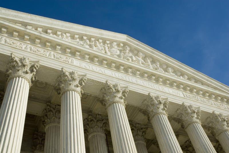 US Supreme Court in Washington DC stock images