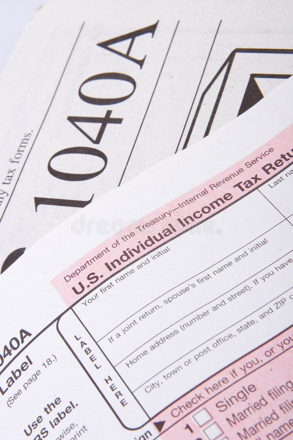 Download US Tax Forms stock photo. Image of internal, government - 2345816
