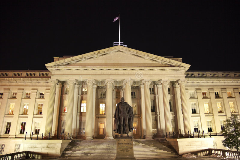 Download US Treasury Department Washington DC Stock Image - Image: 8670035