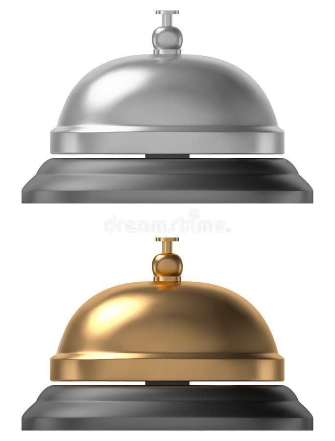 Download Usługowy dzwon ilustracja wektor. Ilustracja złożonej z pierścionek - 106917174
