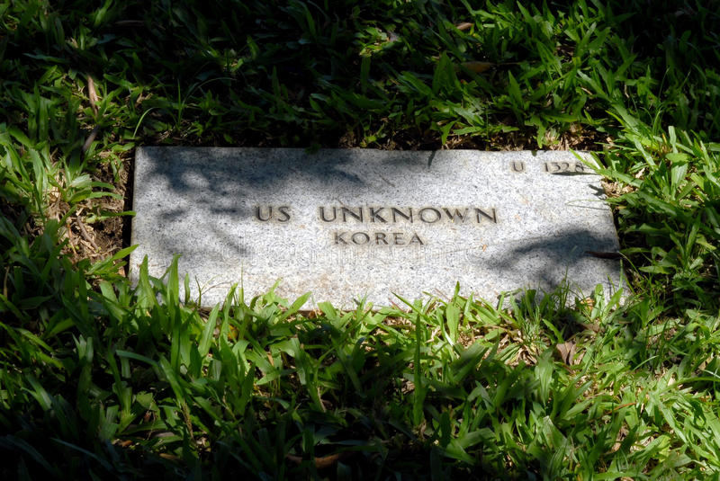 Download US Unknown Grave Marker stock photo. Image of soldier - 13462022