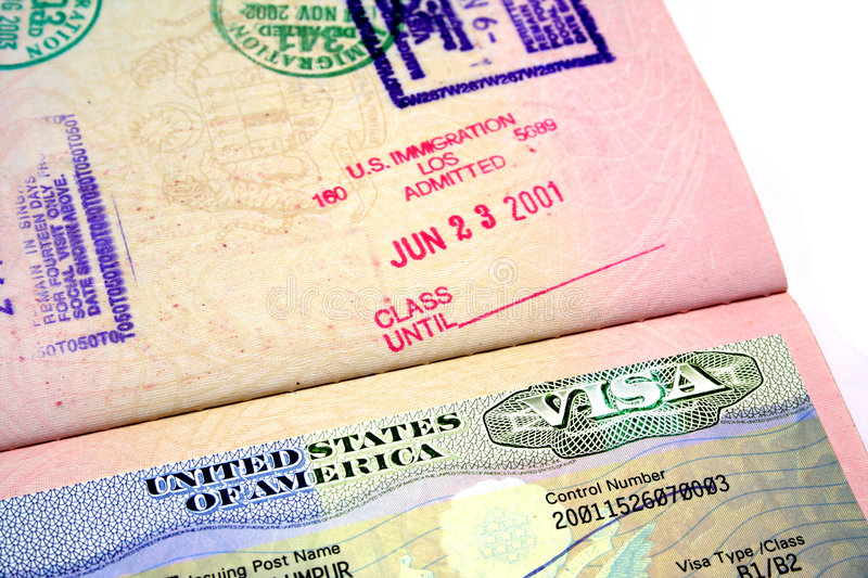 Download US Visa stock photo. Image of entry, flight, credentials - 367596
