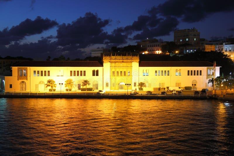 US-Zollamt in der alten Stadt, San Juan lizenzfreie stockfotografie