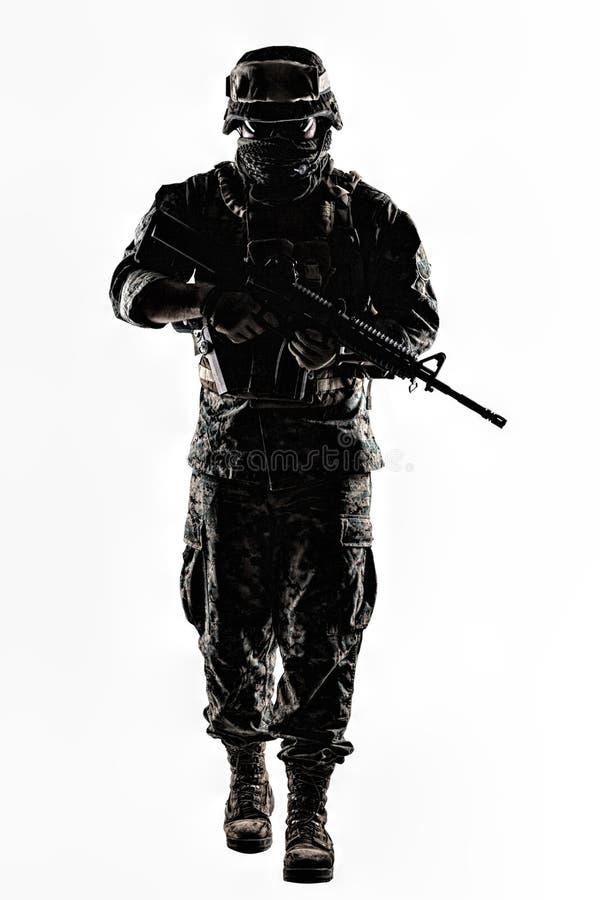 USA żołnierza piechoty morskiej żołnierz fotografia royalty free