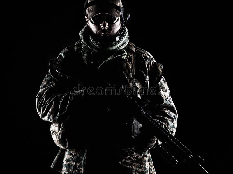USA żołnierza piechoty morskiej żołnierz fotografia stock