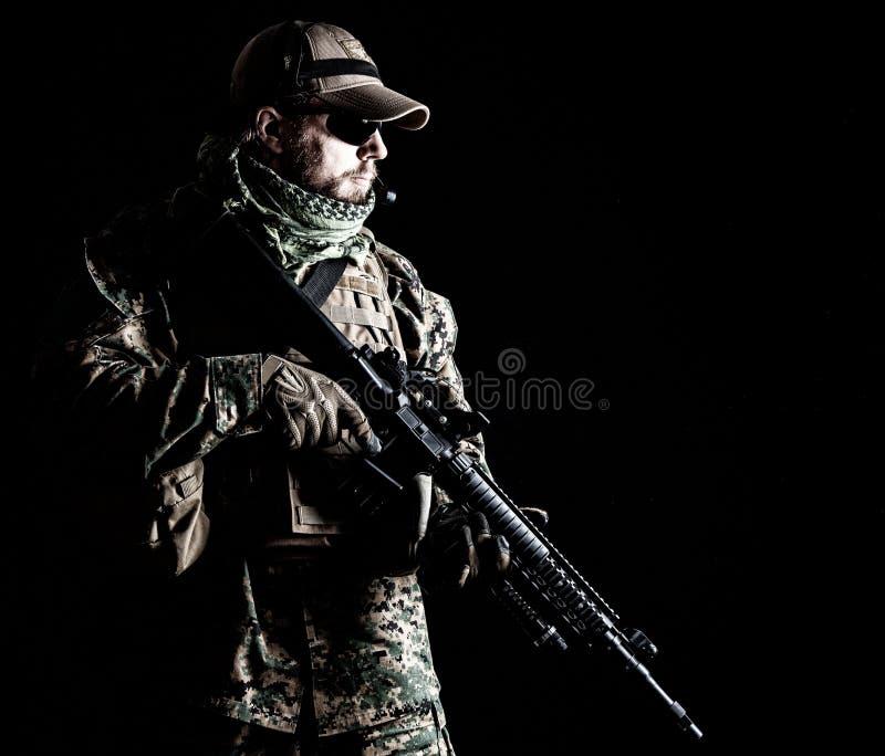 USA żołnierza piechoty morskiej żołnierz zdjęcie stock