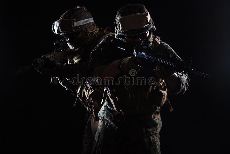USA żołnierza piechoty morskiej żołnierz obrazy stock