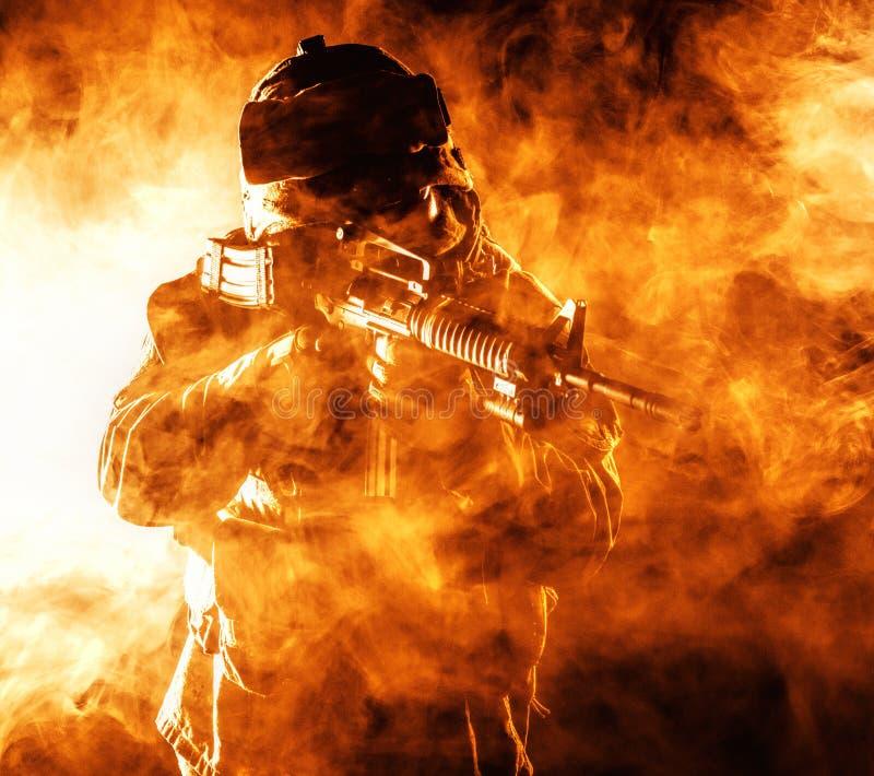 USA żołnierza piechoty morskiej żołnierz zdjęcie royalty free