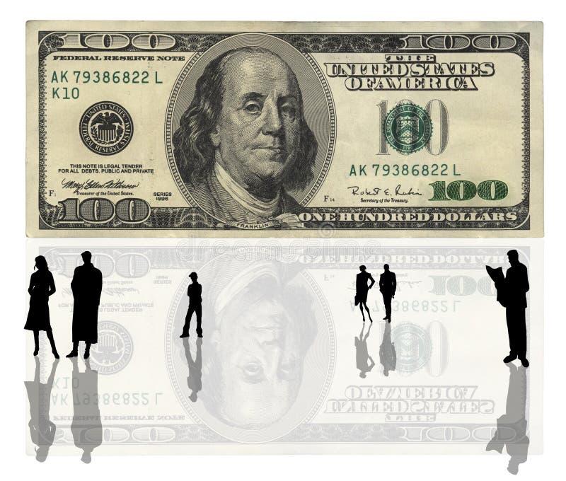 USA 100 dollars banknote stock photography
