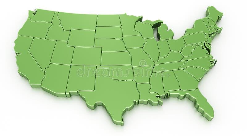 Download USA stock illustration. Image of america, north, united - 14895515