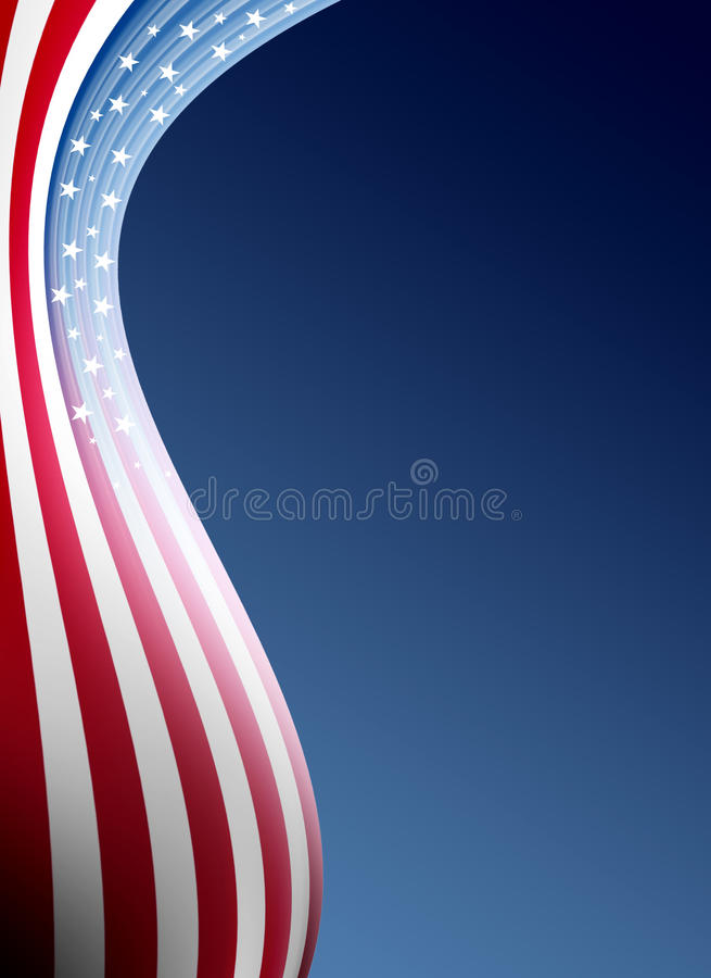 USA stock illustration