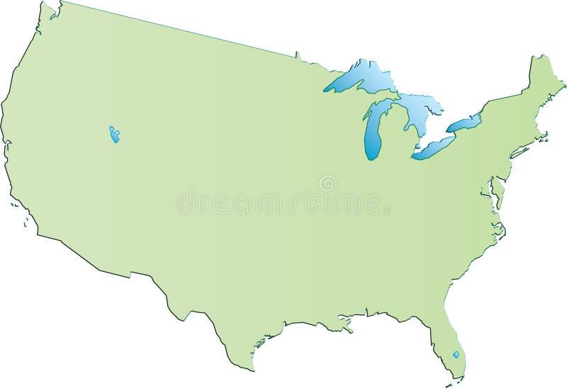 USA lizenzfreie abbildung
