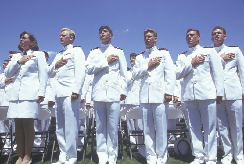 USA Akademii Marynarki Wojennej Skalowanie zdjęcie royalty free