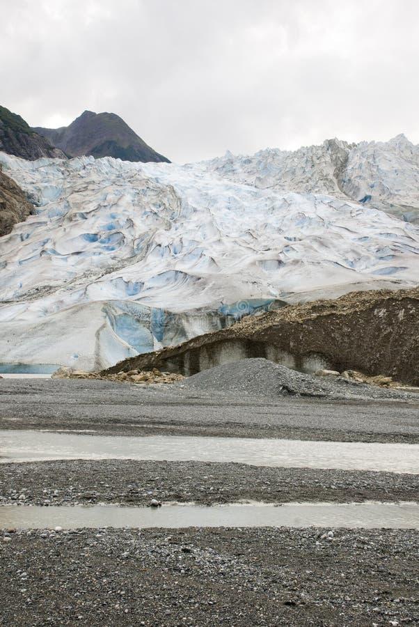 USA Alaska - The Glacier Point Wilderness Safari - Davidson Glacier. USA Alaska, The Glacier Point Wilderness Safari, Davidson Glacier, Travel destination royalty free stock photos