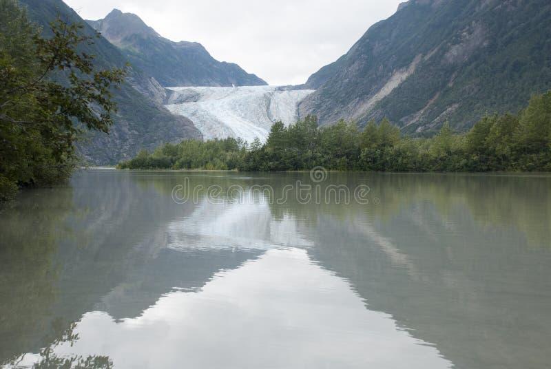 USA Alaska - safari för glaciärpunktvildmarken - Davidson Glacier arkivfoton