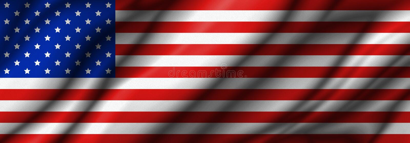 USA or america flag background royalty free illustration