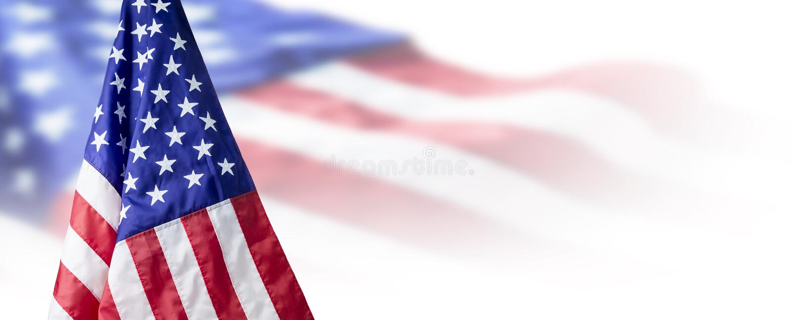 USA or American flag background stock photo