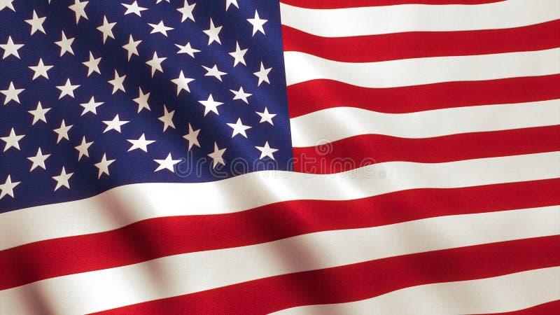 USA American Flag stock photography