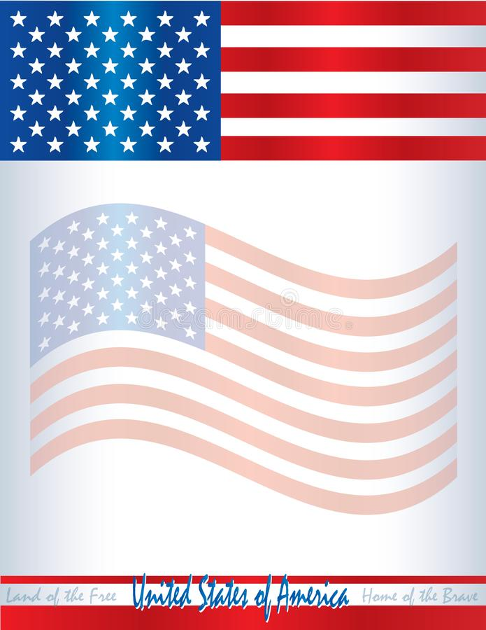 usa american flag template poster background united states of