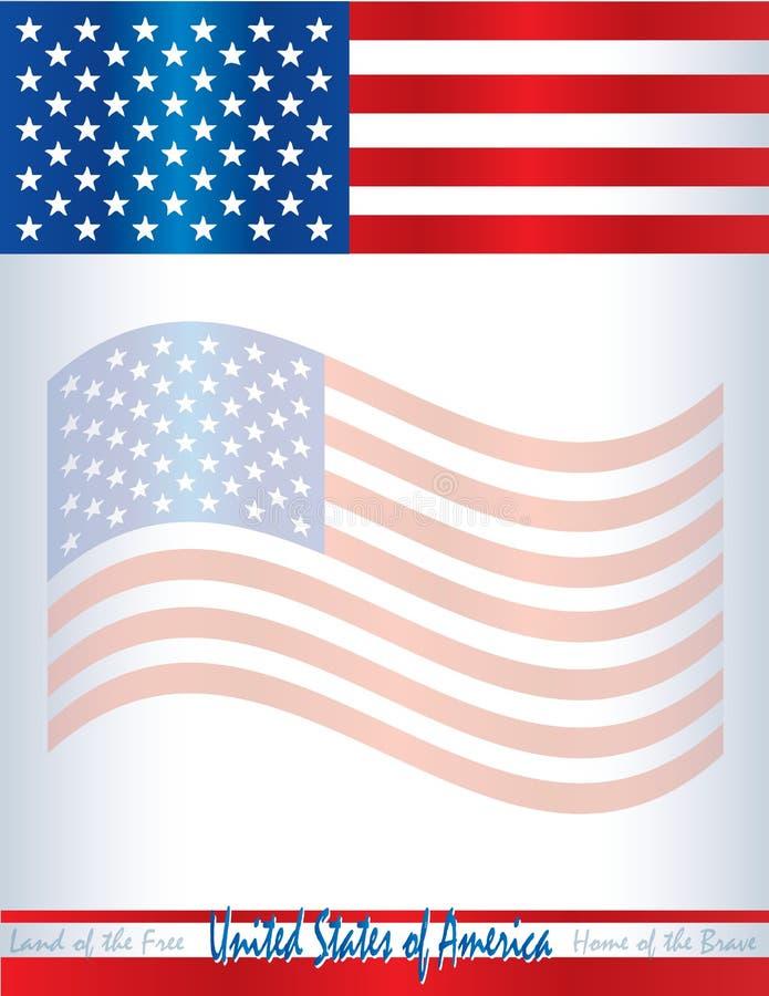 usa american flag template poster background united states. Black Bedroom Furniture Sets. Home Design Ideas