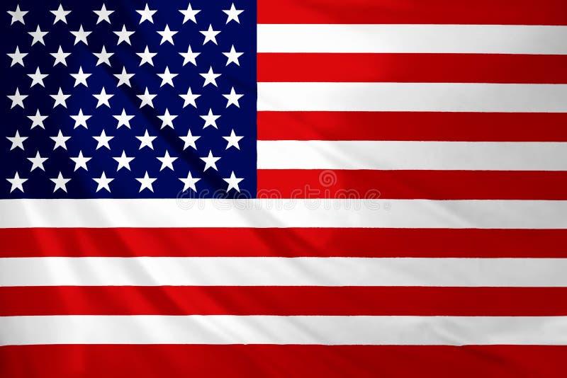 USA amerikanska flaggan Amerika 4th, rött royaltyfri foto